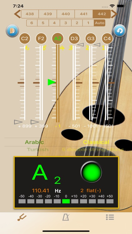 Oud Tuner - Tuner for Oud screenshot-0
