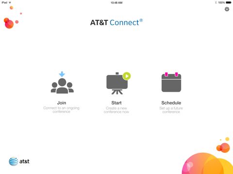 Screenshot of AT&T Connect Mobile