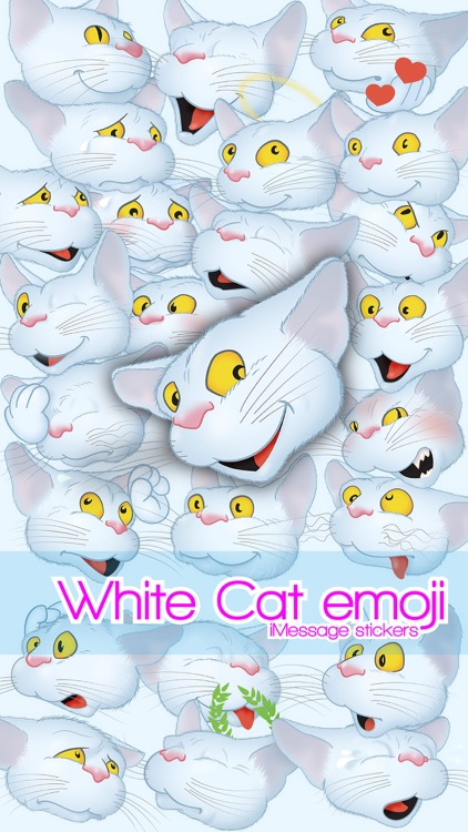 White Cat emoji