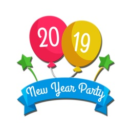 New Year 2019 Stickers
