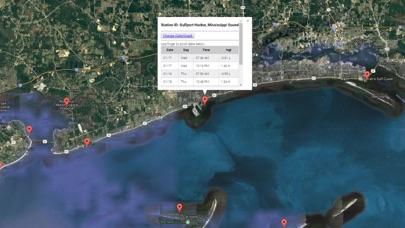 Mississippi Tide Chart Screenshot