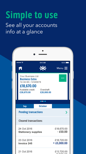 Bank of scotland business on the app store bank of scotland business on the app store reheart Choice Image