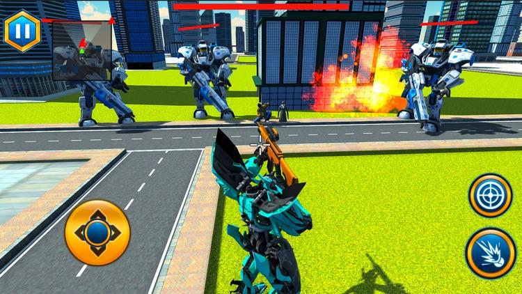 Flying Horse Robot War screenshot-3