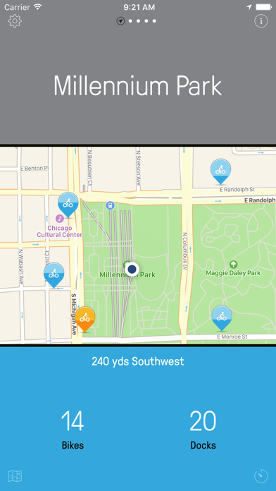 Chicago Bikes — A One-Tap Divvy Bike App | App Price Drops on