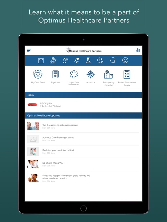 Optimus Healthcare Partners-ipad-0