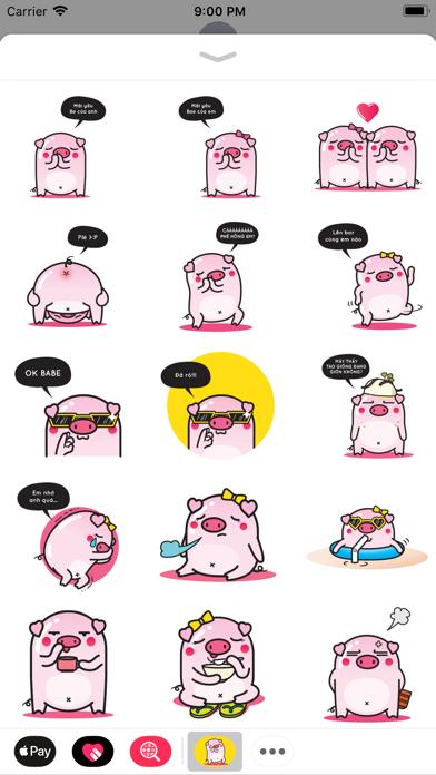 Piggy Sticker app image
