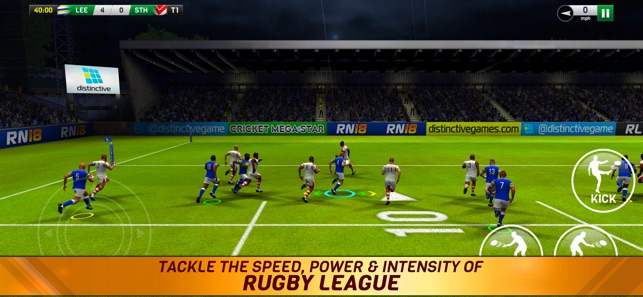 Rugby League 18 Screenshot