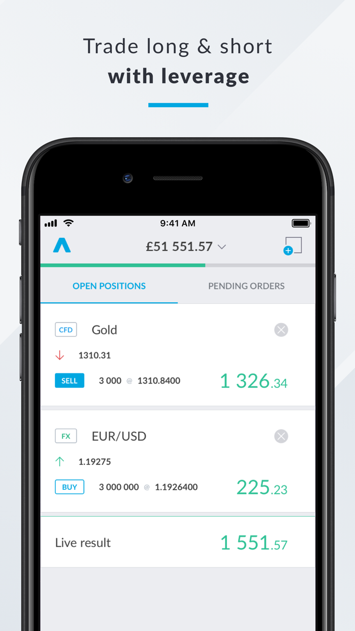 Trading 212 Screenshot