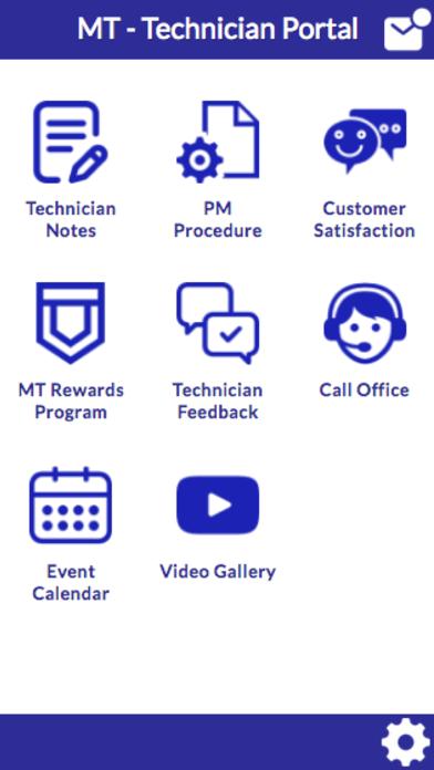 MT Technician Portal screenshot 1