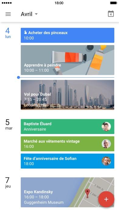 download Google Agenda apps 2