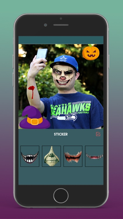 Halloween Photo Editor - Scary screenshot-3