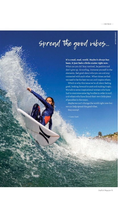 SurfGirl - the international surf and beach lifestyle magazine