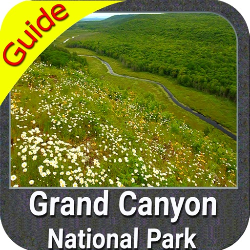 Grand Canyon National Park gps and outdoor map