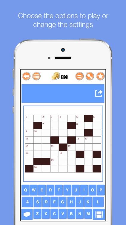 Easy Crossword Puzzle Pro I