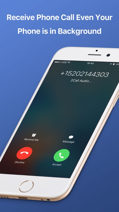 2Call Second Phone Call Number Screenshot
