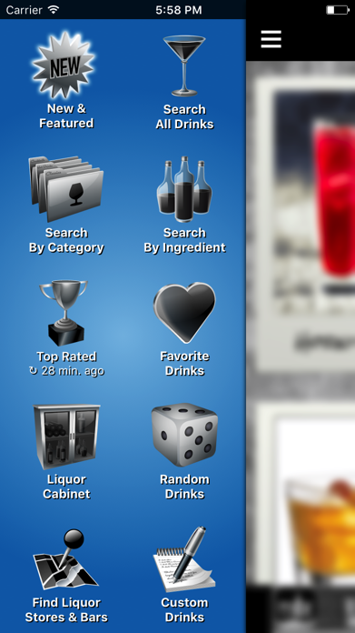 Mixology™ Drink & Cocktail Recipes (Free) Screenshot