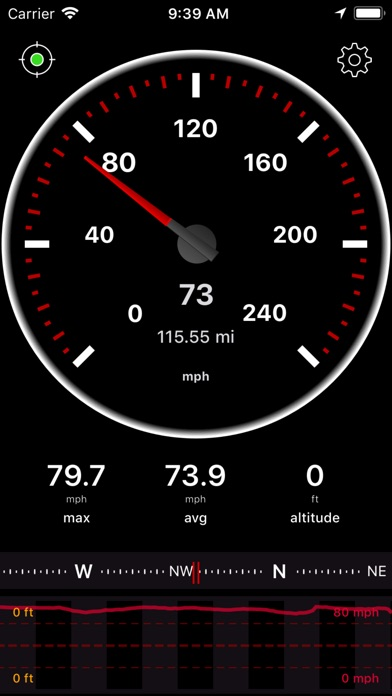 Screenshot for Speedometer Speed Box App in United States App Store