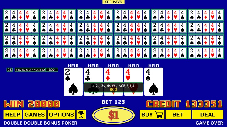 The Classic Video Poker screenshot-4