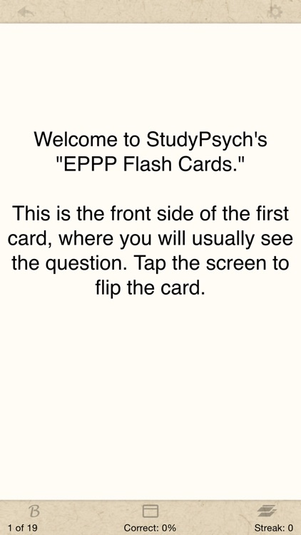 EPPP Flash Cards Lite screenshot-0