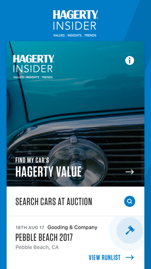 Hagerty Car Value >> Hagerty Insider On The App Store