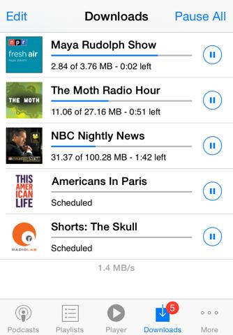 PodCruncher Podcast App screenshot 4