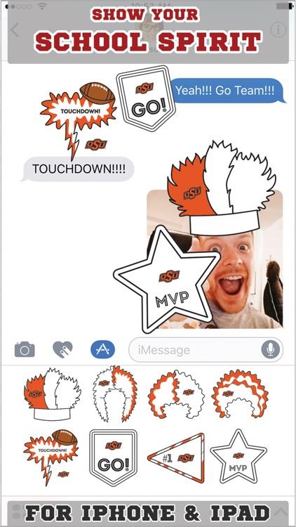Oklahoma State Cowboys Stickers Basic