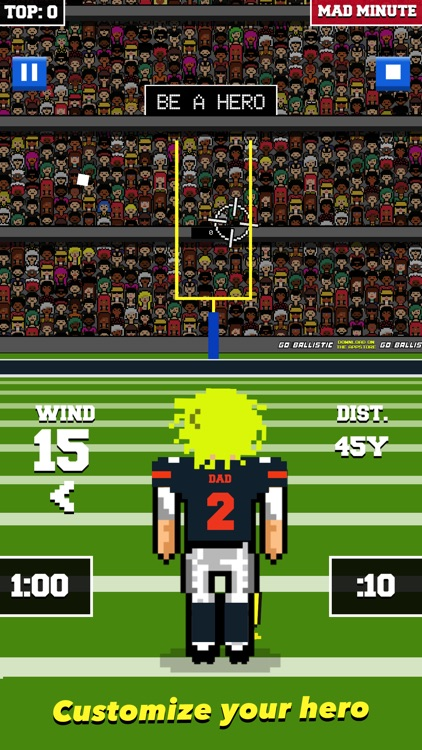 Field Goal Hero screenshot-3