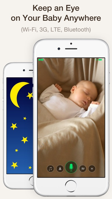 Cloud Baby Monitor Screenshot