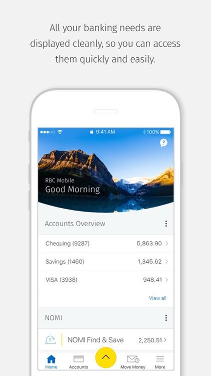 RBC Mobile screenshot-0