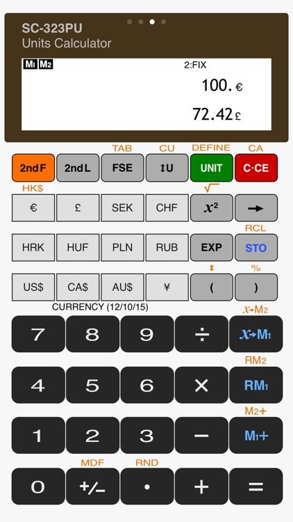 Scientific Calculator SC-323PU screenshot-3