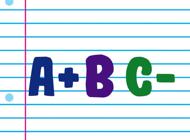 School Grades Stickers