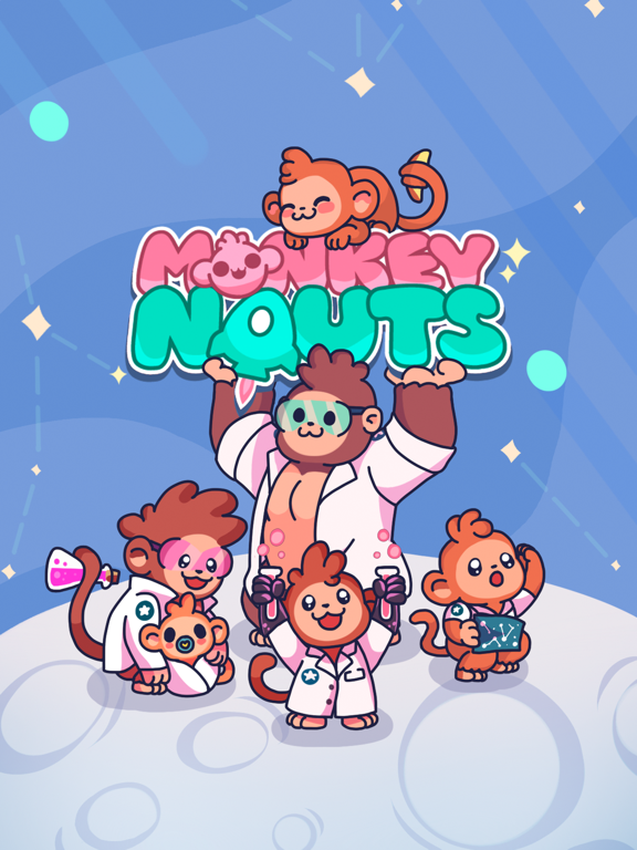 Monkeynauts: Merge Monkeys! screenshot 1