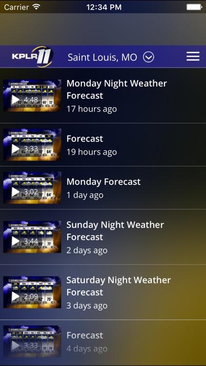 KPLR News 11 St Louis Weather