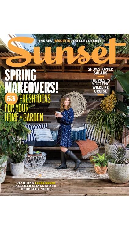 The SUNSET Magazine