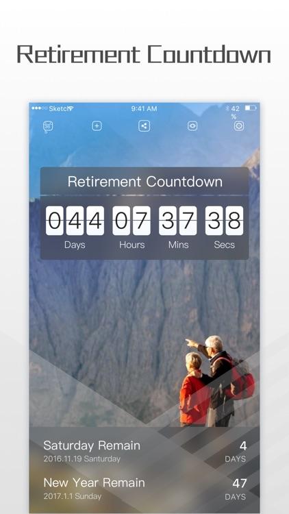Countdown: Count Down Birthday screenshot-3