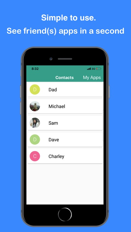 App Share(See Contacts Apps)