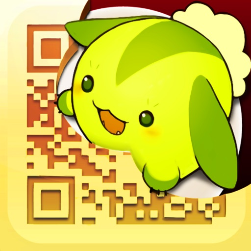 @QR [Kawaii QR Code Reader and Scanner for iPhone] Icon
