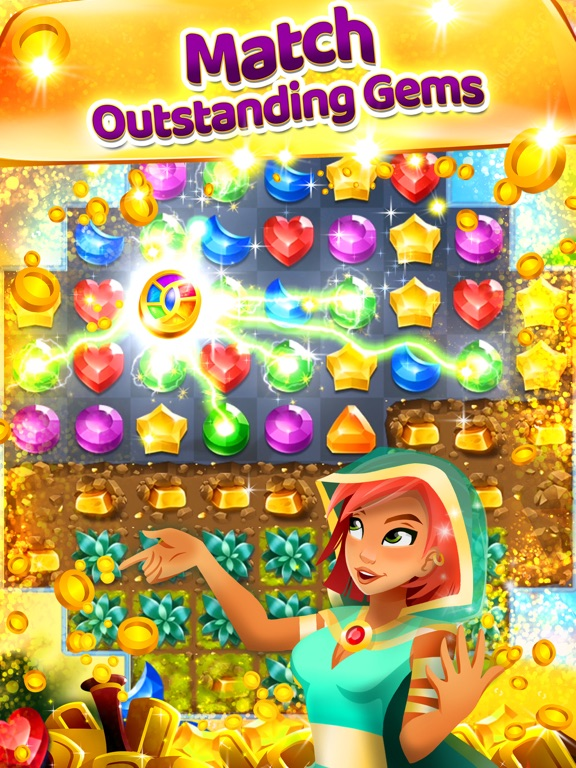Genies & Gems для iPad