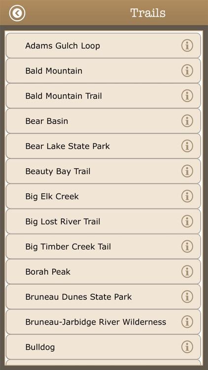 Great - Idaho Camps & Trails screenshot-3