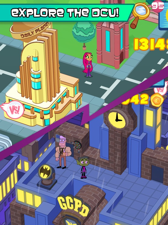 Teen Titans GO Figure! tablet App screenshot 6