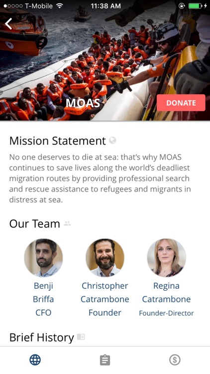 Connect&Care - Donate Globally