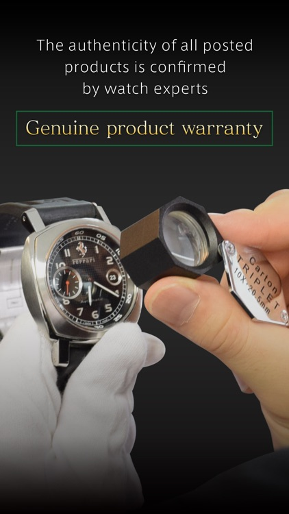 Timepeaks luxury watch auction screenshot-3