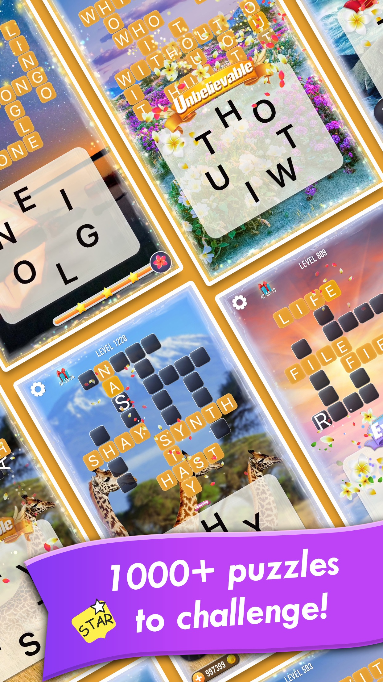 Word Crossy - A crossword game Screenshot