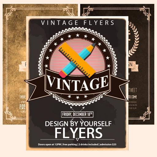 Vintage Flyer & Poster Creator