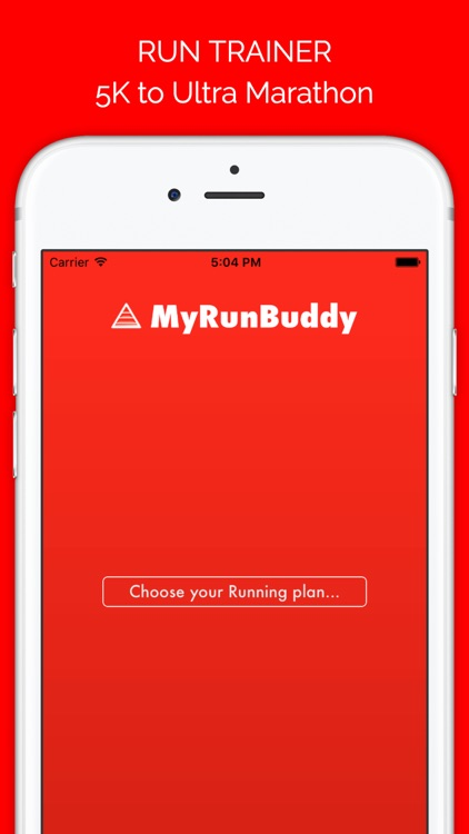 MyRunBuddy -Run Training Plans