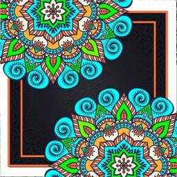ColoRelax  Coloring Mandala
