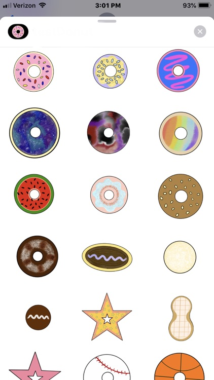 Donut Stickerz screenshot-3