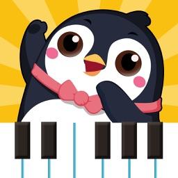 儿童音乐认知-弹钢琴键盘婴儿早教游戏