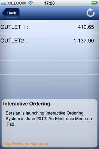 Bersian Sales Tracker - náhled