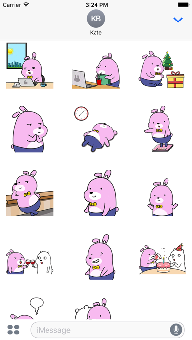 Pinky Rabbit Life Animation screenshot two